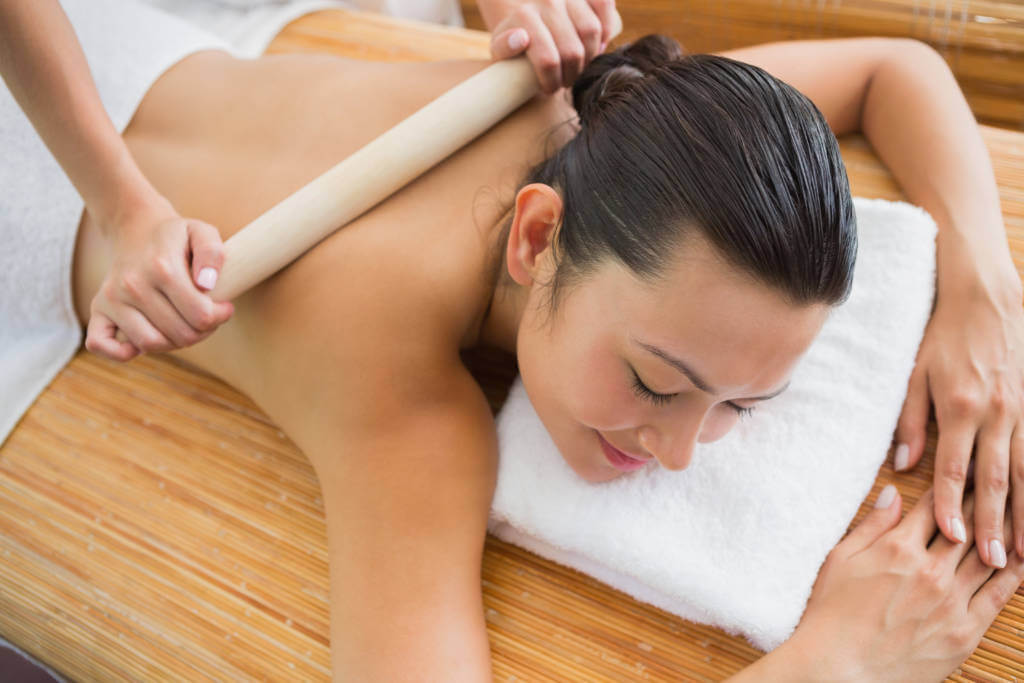 bamboe massage Relaxo Brakel
